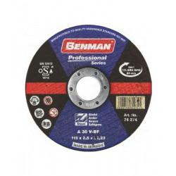 ΔΙΣΚΟΣ ΚΟΠΗΣ ΣΙΔΗΡΟΥ PROFESSIONAL BENMAN 115x2.5mm 74274
