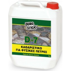 DUROSTICK ΚΑΘΑΡΙΣΤΙΚΟ ΓΙΑ ΦΥΣΙΚΕΣ ΠΕΤΡΕΣ D-7 5lt