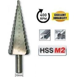 ΤΡΥΠΑΝΙ ΔΙΑΒΑΘΜΙΣΗΣ HSS M2 4-30mm BENMAN (74351)