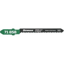 ΠΡΙΟΝΟΛΑΜΕΣ ΞΥΛΟΥ 5 ΤΕΜ (ΤΥΠΟΥ T119BO) BENMAN (71858)