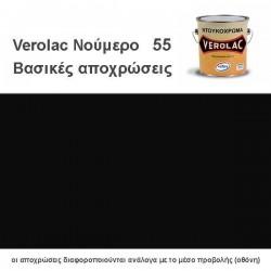 ΝΤΟΥΚΟΧΡΩΜΑ VEROLAC ΜΑΥΡΟ Νο55 375ml